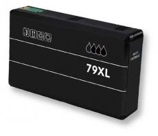 deltalabs Tintenpatrone schwarz ersetzt Epson 79XL (7901)