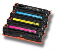 Rainbowkit (Komplettset 4 Toner) ersetzen HP CF-210A - CF-213A