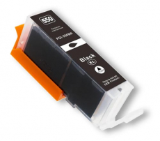 deltalabs Druckerpatrone schwarz für Canon Pixma MG-5550