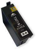 deltalabs Druckerpatrone schwarz für Epson Workforce PRO WF-3725 DW / DWF