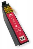 deltalabs Druckerpatrone magenta für Epson Workforce PRO WF-3725 DW / DWF