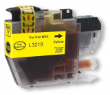deltalabs Druckerpatrone yellow ersetzt Brother LC3219XLY