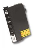 deltalabs Tintenpatrone schwarz für Epson Expression Home XP-355