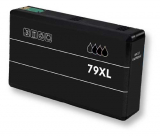 deltalabs Tintenpatrone schwarz für Epson Workforce Pro WF-4630 DWF