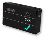deltalabs Tintenpatrone cyan für Epson Workforce Pro WF-4630 DWF