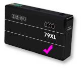 deltalabs Tintenpatrone magenta für Epson Workforce Pro WF-5190 DW