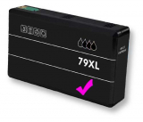 deltalabs Tintenpatrone magenta für Epson Workforce Pro WF-5620 DWF