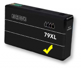 deltalabs Tintenpatrone yellow für Epson Workforce Pro WF-5620 DWF