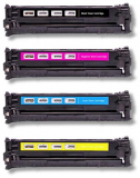 deltalabs Toner Rainbowkit für HP Color Laserjet CP 1215