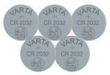 5er Pack Varta Batterien CR-2032