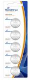 MediaRange Lithium Knopfzellen, CR2016|3V, 5er Pack