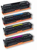 HP Color Laserjet CP 2027 deltalabsToner Komplettset