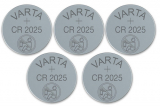 5er Pack Varta Batterien CR-2025