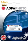 AGFAPHOTO 9V EBLOCK BATTERY 6LR61