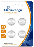 4er Pack MediaRange LithiumCoin Cell CR2025