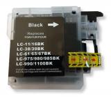 deltalabs Druckerpatrone schwarz ersetzt Brother LC-980 / LC-1100