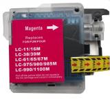 deltalabs Druckerpatrone magenta ersetzt Brother LC-980 / LC-1100
