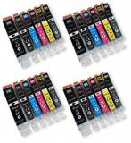 deltalabs Druckerpatronen Sparpaket für Canon Pixma MG-7150