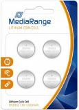 4er Pack Mediarange Batterien CR-2032