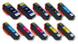 deltalabs Tintenpatronen Sparpaket für Epson Expression Premium XP-820