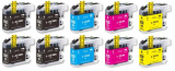 deltalabs Druckerpatronen Sparpaket für Brother MFC-J4620DW