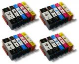 deltalabs Tintenpatronen Komplettset für Canon Pixma MX860