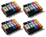 deltalabs Tintenpatronen Komplettset für Canon Pixma MX870